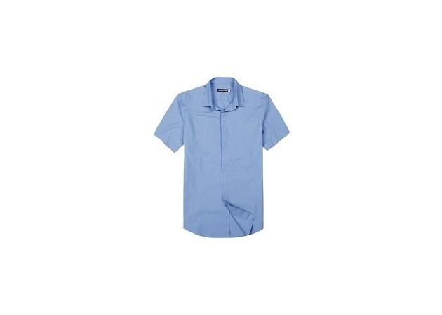 男短式衬衫